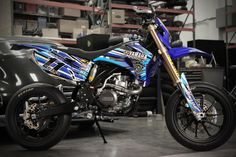 Yamaha WR450 Supermoto of Ben Spies