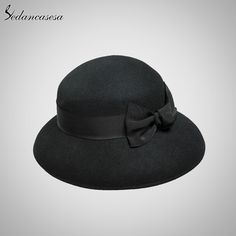 100% Australian Wool Fedora Hat Fashion Noble Bowler Hat Felt For Women Wide Brim Formal Church Cloche Hat Like and Share if you want this #shop #beauty #Woman's fashion #Products #Hat