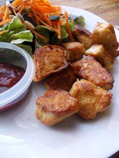 ...Soul Vood kocht & bloggt...: Popcorn Tofu