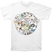 762a643e3fef Led Zeppelin III Circle Summer Fashion Men's T-shirt White. Led Zeppelin  IiiVintage RockBand Merch