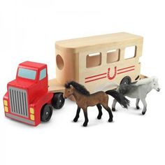 Melissa and Doug Horse Carrier Play Set
