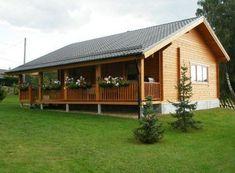 Casas de campo de madera #modelosdecasasdemadera