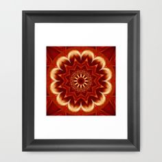 Buy Mandala Shanti 3 by Christine baessler as a high quality Framed Art Print. Worldwide shipping available at Society6.com. Just one of millions of products available.