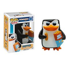 Penguins of Madagascar Skipper Pop! Vinyl Figure - Funko - Madagascar - Pop! Vinyl Figures at Entertainment Earth