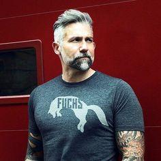 Cute Short and Full Beard Styles for Men (14)