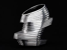 Image 1 of 15 from gallery of Zaha Hadid and United Nude Unveil the nOVa Shoe. Photograph by United Nude Women's Shoes, Nude Shoes, Me Too Shoes, Art Shoes, Ugly Shoes, Iris Van Herpen, Zaha Hadid Shoes, Futuristic Shoes, United Nude