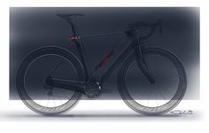 CrossBow tension electric bicycle concept by Clandestine Design Group