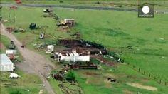 Decenas de tornados afectan a cuatro estados del centro y sur de Estados Unidos