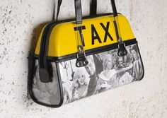 f893f0d05d4be 7 Best Taxi handbag upcycled images in 2017   Cross body bags ...