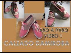 SANDALIAS DE PLATAFORMA PASO A PASO VIDEO 2 - YouTube
