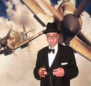 Professional Winston Churchill Look a like and impersonator for hire. Our professional impersonators can be hired in London and the UK.