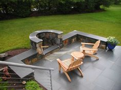Outdoor Fireplaces & Fire Pits | Freddy's Landscape Company
