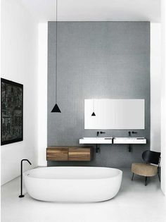 floating sink and shelving