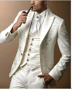 Custom made 3 pieces groom tuxedos wedding suits for men Groom Groomsmen Tuxedos mens wedding suits (Jacket+Pant+Vest+Tie)terno Tuxedo Suit For Men, Groom Tuxedo Wedding, Wedding Men, Wedding Suits, Black Tuxedo, Mens Suits, Formal Wedding, Gothic Wedding, Summer Wedding
