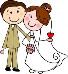 Risultati immagini per disegno sposi