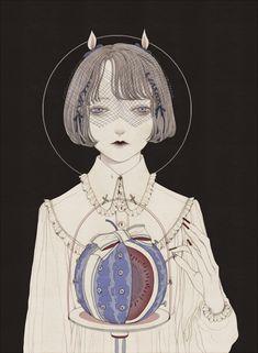 Synesthesia Garden - a weird art + style blog   » Blog Archive » The Romantic Cannibal: The Art of Kurokawa Inuko