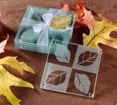 Fall in Love Coaster Set Wedding Favor | Coaster Wedding Favors