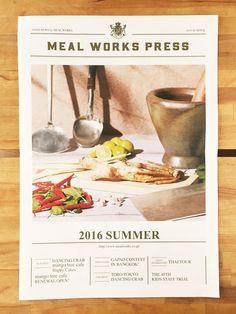 Japan Design, Web Design, Flyer Design, Book Design, Layout Design, Newspaper Layout, Newspaper Design, Magazine Design, Menu Book