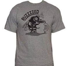 Coffee Buzzed T-Shirt-Funny Java shirt-Large-Charcoal Delta http://www.amazon.com/dp/B017AD78HC/ref=cm_sw_r_pi_dp_nknvwb1XNCJVX #mensshirts #funnyshirts #menswear #mensclothing #buzzed #coffee