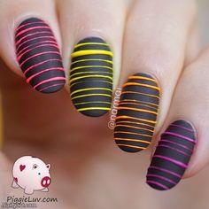 50 Stylish Sugar Spun nails - nail4art