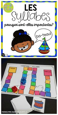 Classroom tips & tricks, resources and teaching ideas for the primary French classroom - immersion or French first-language Kindergarten Language Arts, Kindergarten Literacy, Montessori Elementary, French Teaching Resources, Teaching French, Grade 1 Reading, Guided Reading, Teaching Reading, French Language Learning