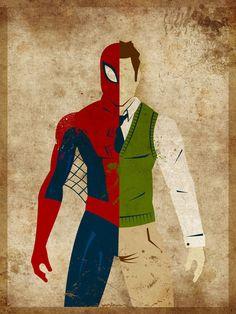peter parker & spiderman