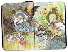 Small Sketchbook 2010 by David Habben