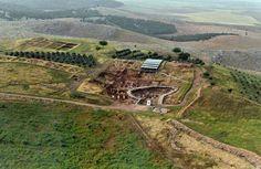Gobekli Tepe aerial view.    Photo: http://gobeklitepe.info.tr/ http://twitter.com/gobeklitepe
