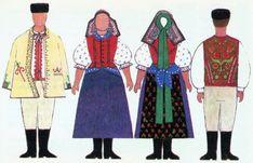 Folk Costume, Costumes, Folk Embroidery, Regional, Fashion, Moda, Dress Up Clothes, Fashion Styles, Fancy Dress