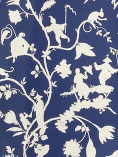 DecoratorsBest - Detail1 - Stroheim 0692801 - CLAYFIELD - Blue & White - Wallpaper - DecoratorsBest