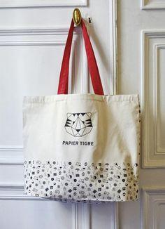 Notebag Papier Tigre