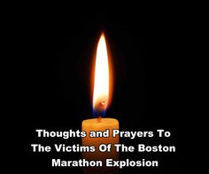 Boston Marathon Explosion - April 15, 2013. Our thoughts and prayers go out  to the victims & their families.