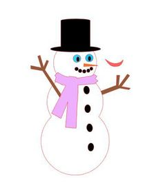 Free Snowman Silhouette Studio File Silhouette Studio, Snowman, Crafts, Free, Creative, Manualidades, Snowmen, Handmade Crafts, Craft