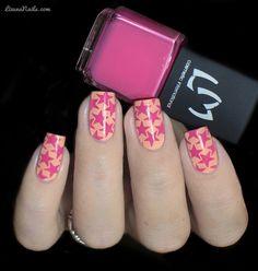 LMcosmetic - Vernis Stamping 9 Rose Girly