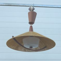 For sale through RetroStart:  Hanging Lamp from the sixties by Unknown Designer for Fog and Mørup | #42446