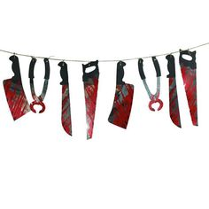 1 Set Spooky Halloween Party Haunted House Hanging Garland Pennant Banner Decoration H3240