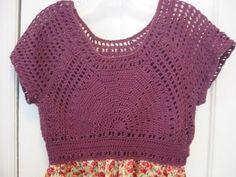 free easy crochet patterns summer tops   Crochet Pattern Central – Free Women's Dress and Skirt Crochet