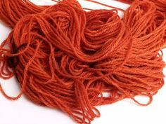Dyed Yarn with Beets - Actually uses gluten-free vinegar (red vinegar).