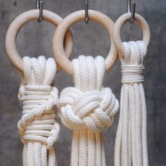"48 Likes, 6 Comments - Anna & Monica (@frostadesign) on Instagram: ""Knots #frostadesign #macrame #makrame #vallgatan"""