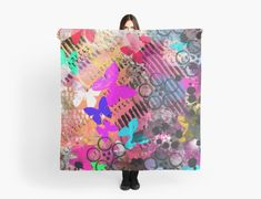 """""""Into The Unknown Abstract Butterfly Digital Painting"""" Scarves by jaggerstudios Iphone Wallet, Iphone Cases, Scarves, Butterfly, Abstract, Digital, Poster, Painting, Scarfs"""