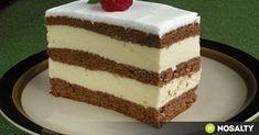 Krásne rezy: Z jedného plátu cesta máte 3 fantastické vrstvy! Hungarian Desserts, Hungarian Cake, Hungarian Recipes, No Bake Desserts, Dessert Recipes, Homemade Chocolate, Candy Buffet, Melting Chocolate, Clean Eating Snacks