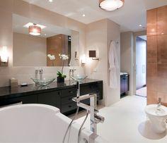 Presidential Duplex Master Bathroom.