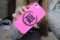 PINK iPhone case ♡