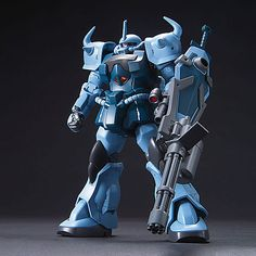 It's no surprise that I'm a huge fan of all things Gundam, and the Gouf Custom has always been one of my favorite Mecha