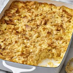 and rich potatoes on the plate. Mac And Cheese Casserole, Casserole Recipes, Macaroni And Cheese, Mac Cheese, Cheddar Cheese, Macaroni Salads, Classic Mac And Cheese, Creamy Mac And Cheese, Turkey Noodle Casserole