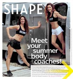 SHAPE Magazine & Tone It Up!!