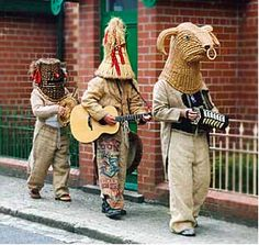 The Mummers and Celtic Winter Solstice | Celtic Winter Solstice Traditions | WinterSolsticeMusic.com