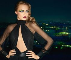 YSL Beauty F/W 13.14 campaign with Cara Delevingne