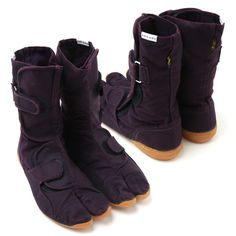 Sou Sou tabi work boots  with Velcro. Cool!!