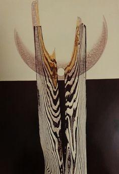 Iwami Reika   Song of Water A  1970  Print Book: Gaston Petit - 44 Modern Japanese Print Artists
